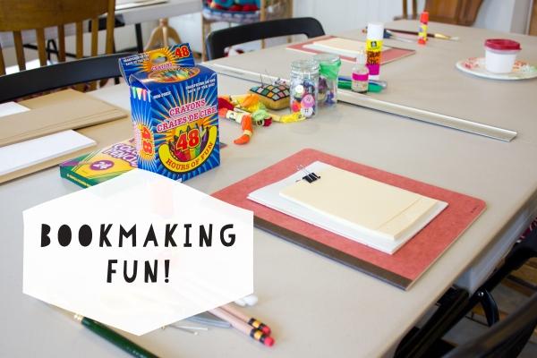 Bookmaking Fun Class