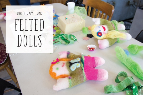Felted Doll Party