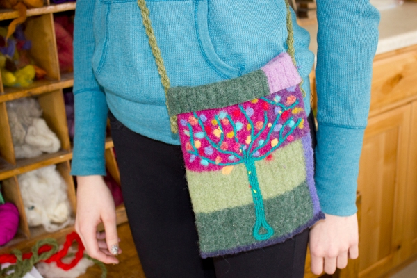 Felted Purse 7