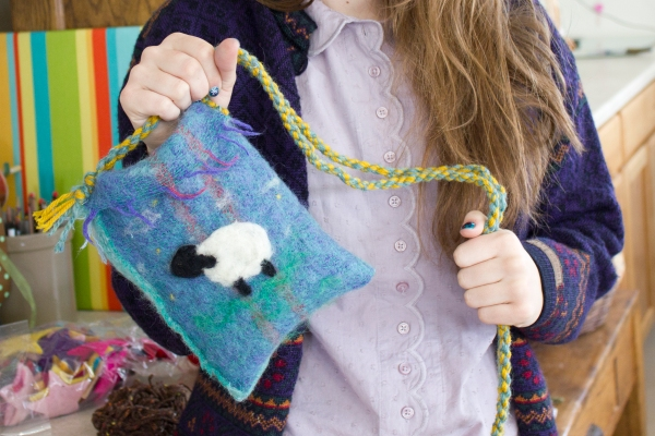 Felted Purse 8